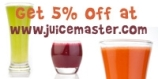 5% discout off juicemaster